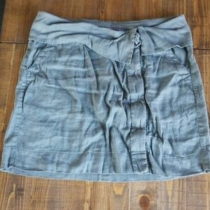 Vince green gray blue skirt